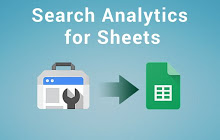 Search Analytics for Sheetsのロゴ
